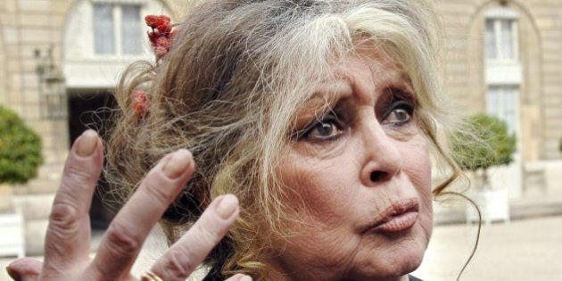 Brigitte Bardot rend hommage à François Hollande,