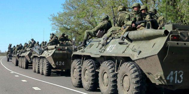 Ukraine : les blindés venus de Russie détruits par l'armée ukrainienne, selon