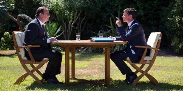 Hollande et Valls ont préparé la rentrée au Fort de
