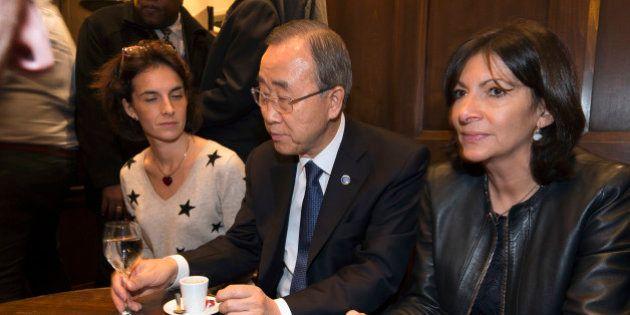 Ban Ki-moon au bar La Bonne Bière se dit