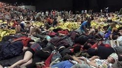 15.000 scouts évacués dans la nuit à cause des