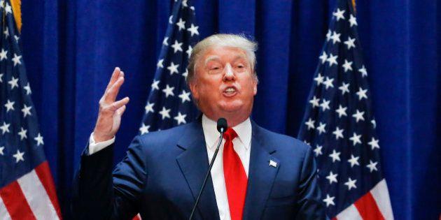 Donald Trump répond au HuffPost américain, qui a décidé de traiter sa campagne dans la rubrique