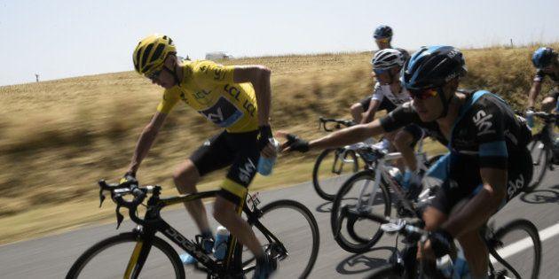 Richie Porte, coéquipier de Christopher Froome, dit avoir été frappé par un spectateur du Tour de
