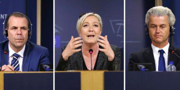 Le casse-tête des alliances du FN pour former un groupe au Parlement