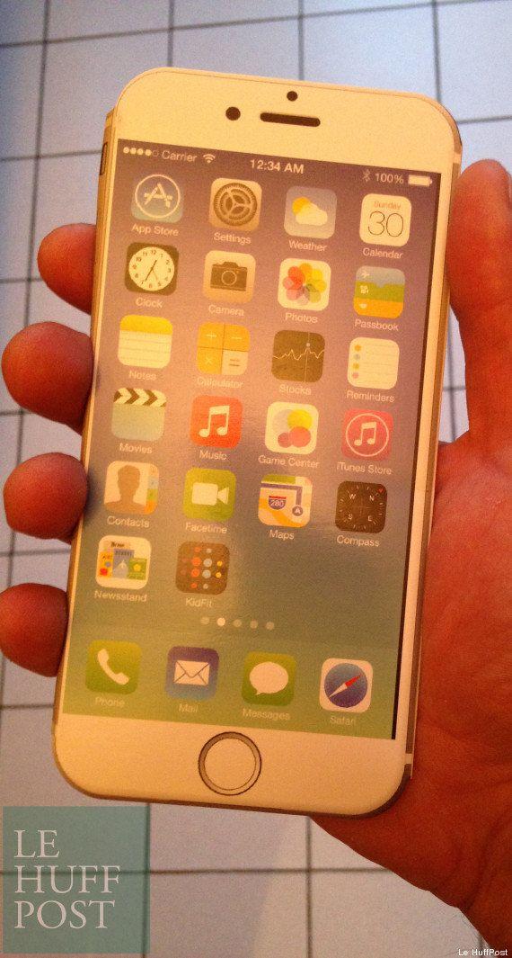 PHOTOS. iPhone 6 : La possible taille du futur smartphone d'Apple, au vu des coques déjà fabriquées