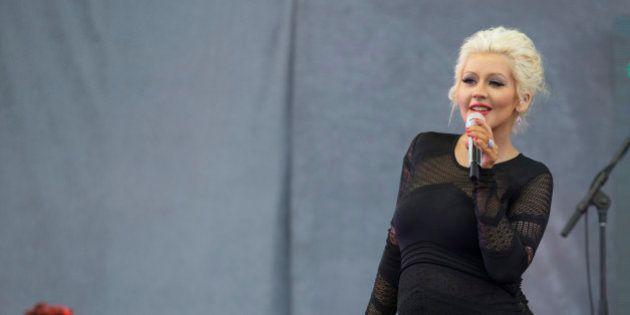 Christina Aguilera, maman pour la deuxième fois, a donné naissance à une
