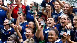 Coupe du monde de rugby féminin: la France gagne la petite