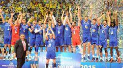 Premier titre international pour l'équipe de France de