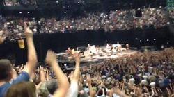 Bruce Springsteen fait (littéralement) péter les plombs à