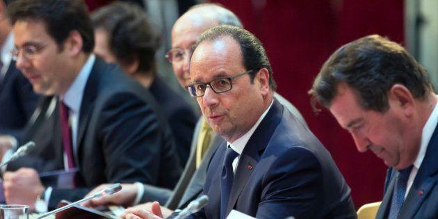 François Hollande lance l'idée d'