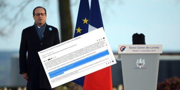Hollande et Dorgelès: encore une citation de travers après le William Shakespeare du