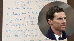 La lettre de Benedict Cumberbatch au père