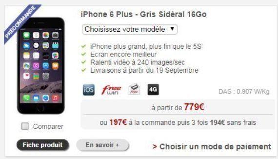 iPhone 6 - Orange, Free, SFR, Bouygues : quel opérateur le propose au meilleur prix (avec et sans