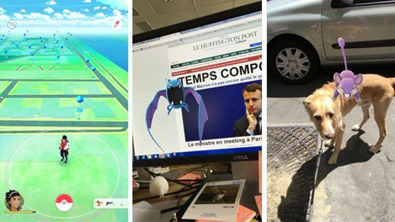 Pokémon Go cartonne en France: mais c'est quoi ce jeu qu'on ne peut télécharger qu'avec des