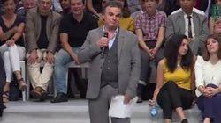 Alexandre Jardin a squatté le meeting de Macron pendant 20