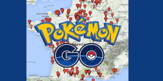 Pour les joueurs de Pokémon Go en France, il existe une carte