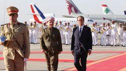 En Irak, François Hollande promet plus d'aide
