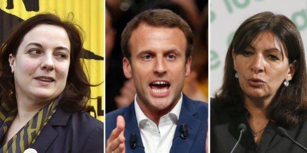 Dans son meeting, Macron se présente comme antisystème, ses adversaires rient