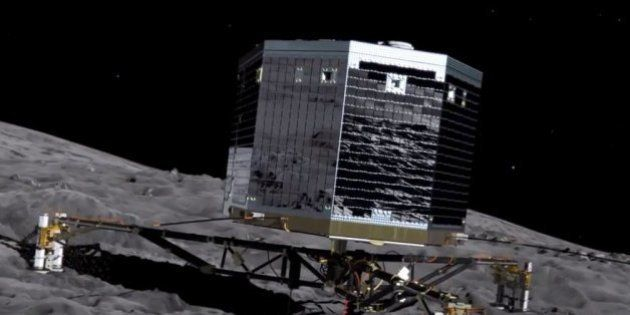 Mission Rosetta : la sonde a enregistré la