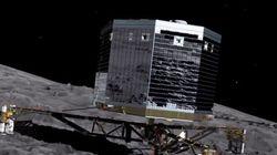 La sonde Rosetta a enregistré la