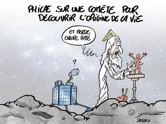 Philae: Peut-on trouver les origines de la