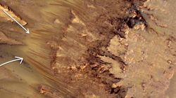 Les images de la Nasa montrant l'eau sur