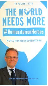 Les héros de l'humanitaire: des gens importants pour nous