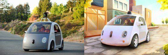VIDÉO. Google Car: le dernier prototype de la voiture de Google sans volant ni