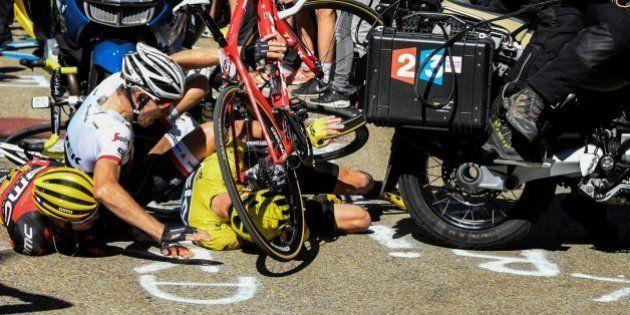 L'organisation du Tour de France pointée du doigt après l'incident impliquant Chris