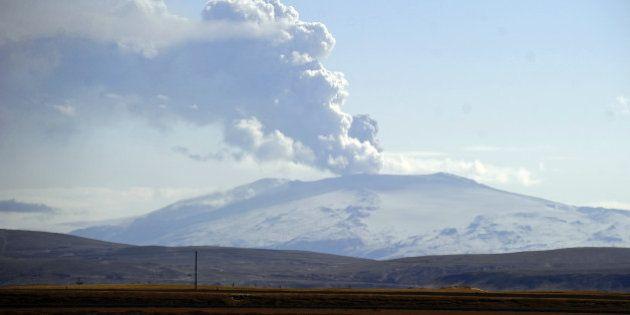 Bardarbunga, le volcan islandais qui met le secteur aérien en