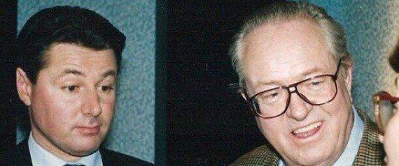 Pourquoi cette photo de Christian Estrosi avec Jean-Marie Le Pen tourne chez les militants socialistes...