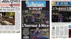 Les Unes des journaux après l'attaque à