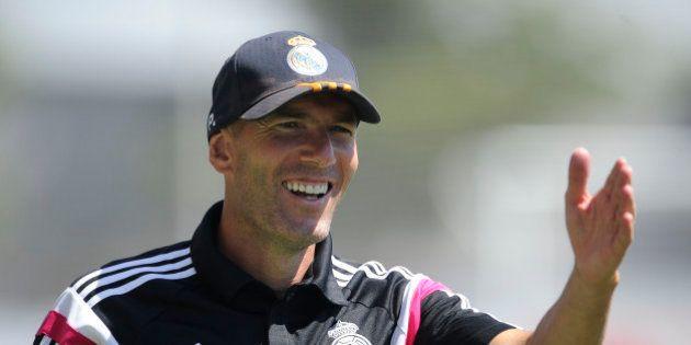 Zinedine Zidane a (enfin) gagné son premier match à la tête de la réserve du Real