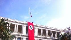 Le drapeau nazi revient à Nice (pas de panique, c'est pour un