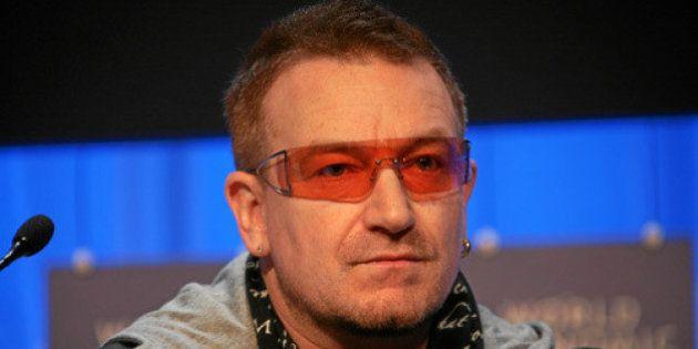 Bono échappe à un accident