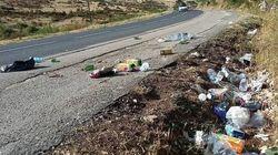 Une Lozérienne s'indigne des détritus laissés par le Tour de France. Et elle n'est pas la