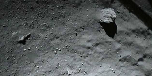 Philae a fait un forage, mais le résultat n'arrivera peut-être pas sur