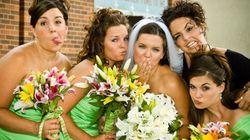 Mariées et demoiselles d'honneur: 4 conseils pour bien