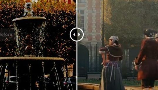 Comparez le Paris d'Assassin's Creed Unity et le Paris