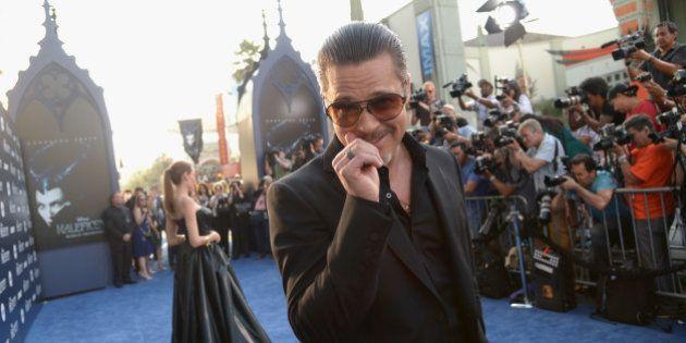 Brad Pitt attaqué et frappé au visage à la première de