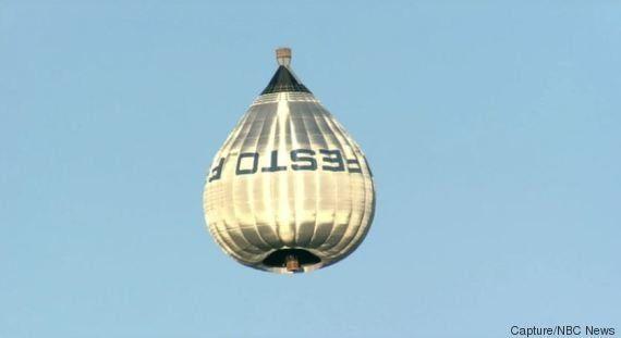 Une montgolfière en trompe-l'oeil provoque la panique à Los