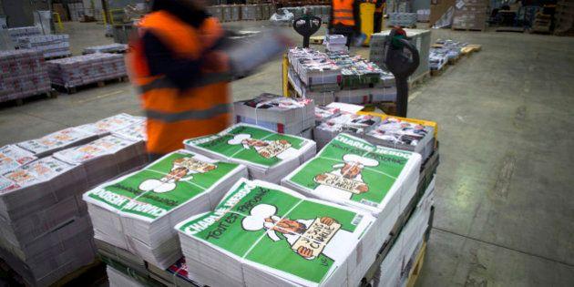 Charlie Hebdo a quitté les locaux de Libération, neuf mois après l'attentat du 7