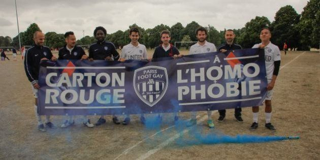 Paris Foot Gay: le club annonce sa