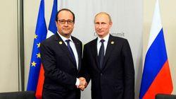 Au G20, Poutine et Hollande ont évité d'évoquer la livraison des