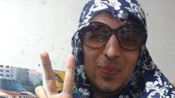 En Iran, des hommes portent le voile