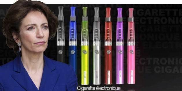 Cigarette électronique: la loi antitabac de Marisol Touraine prévoirait son interdiction dans tous les...