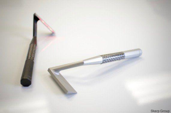 PHOTOS. Le rasoir laser pourrait remplacer vos lames