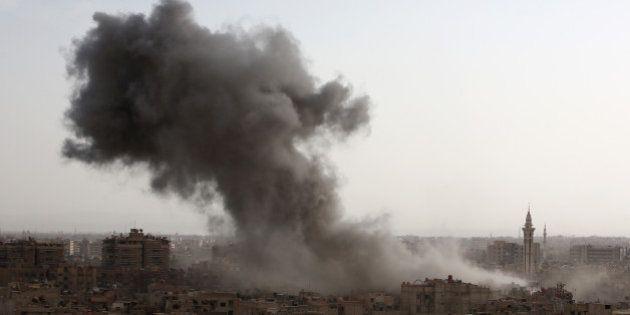 La Russie a mené son premier bombardement en Syrie, près de