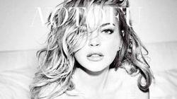 Lindsay Lohan dans de beaux draps en couverture du magazine No