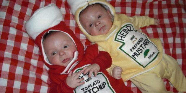 PHOTOS. Halloween 2015: Les surprenants costumes de 22 paires de petits
